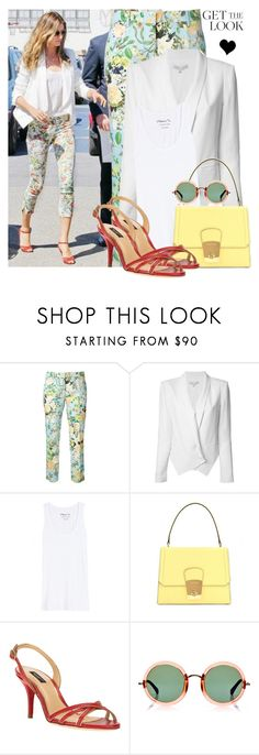 """""""Get the look: Gisele Bündchen"""" by elske88 ❤ liked on Polyvore featuring Trēs Chic S.A.R.T.O.R.I.A.L., Rebecca Minkoff, 81hours, Miu Miu, Dolce&Gabbana, Linda Farrow and GetTheLook"""