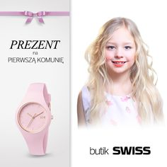Szukasz idealnego prezentu na pierwszą komunię? W butiku SWISS znajdziesz cudowną kolekcję zegarków dla dzieci.Zapraszamy!