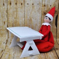Recently Added - Spunky Stitches Elf Clothes, Barbie Clothes, Embroidery Files, Machine Embroidery, Sled, All Sale, Dinner Table, Elf On The Shelf, Reindeer