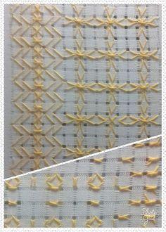 Calados de Pollera  No 86,  2x1 Kaftan, Blackwork, Crochet Flowers, Embroidery Designs, Stitch, Curtains, Sewing, Knitting, Diy Crafts