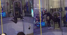 Incredible Wind Tunnel Dancer Gracefully Defies Gravity With Some Pretty Fly Moves