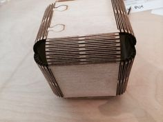 Living Hinge Boxes (Two boxes) by Machinesroom - Thingiverse