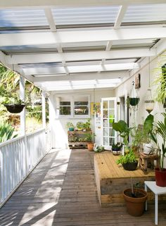 Nicole & Ben's Eclectic Family Pad in Western Australia - Pergola Ideas Roofing, House With Porch, Corrugated Plastic Roofing, Back Gardens, Outdoor Rooms, Corrugated Roofing, Patio Ideas Australia
