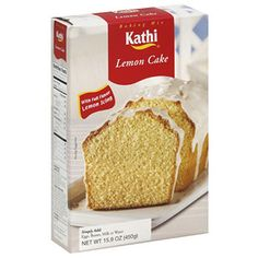 Kathi Lemon Cake Mix, 15.9 oz, (Pack of 8)