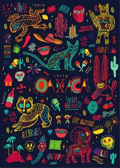 Bosque_OaxacaMoleskine_07 in Pattern