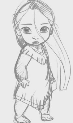 16 ideas for baby drawing sketches glen keane Disney Sketches, Disney Drawings, Cute Drawings, Drawing Sketches, Drawing Tips, Drawing Faces, Walt Disney, Disney Pocahontas, Disney Art