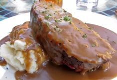 Meatloaf With Gravy Recipe Best.Brown Gravy Meatloaf Recipe Just A Pinch Recipes. Meatloaf Recipe With The Best Glaze NatashasKitchen Com. Meatloaf Recipe With The Best Glaze NatashasKitchen Com. Home and Family
