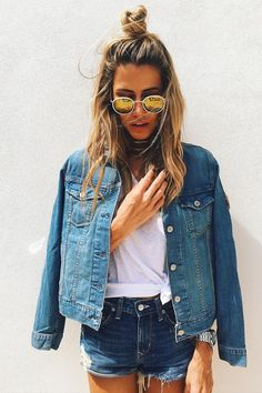 all jeans 18 Jane Lane, Cool Outfits, Casual Outfits, Estilo Jeans, Love Jeans, Short En Jean, Poses For Pictures, Tumblr Girls, Denim Fashion