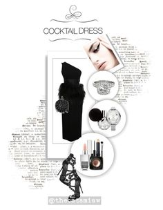 """""""Untitled #270"""" by belleforcible on Polyvore featuring Brewster Home Fashions, Allurez, Giuseppe Zanotti, Christian Louboutin, Bobbi Brown Cosmetics, MAC Cosmetics and Nails Inc."""