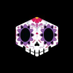 Sombra skull - Día de Muertos : Overwatch