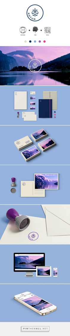 Notum, tour operation company / branding and design by Daniel Brokstad