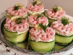Snack Recipes, Cooking Recipes, Healthy Recipes, Tapas, Scandinavian Food, Swedish Recipes, Appetisers, Fish And Seafood, Food Inspiration