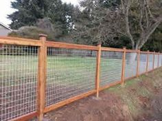4x4 Hog Panel Mesh On 4x4 Posts And Kickboard By Arbor