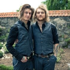 Ben and Danny Asking Alexandria