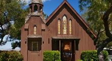 Little Church of the West, Las Vegas, NV -- where I was married.
