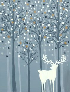 I want to paint Wishful Snowfall at Pinot's Palette - Appleton to discover my inner artist!