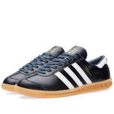 lowest price 2b976 b82fe Adidas Hamburg - Made in Germany (Collegiate Navy  White)