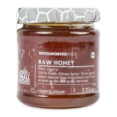 Raw Honey - Mix honey with a touch of balsamic, olive oil & garlic for your rib marinade.