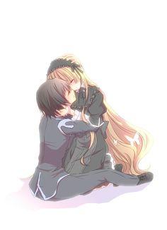 gosick kujo and victorique Anime Crossover, Anime Love Couple, Cute Anime Couples, Kawaii Anime, Gosick Victorique, Anime Manga, Anime Art, Koi, Amor Romance