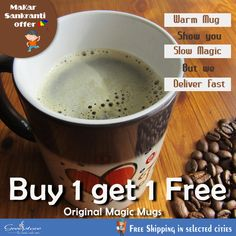 Buy magic mugs to gift your loved ones and see the magic in their eyes, It is not only for corporate world or employee but also for your friend for printing quotes or special design which will be shown after putting hot coffee or liquid into it.