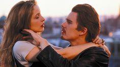 Before Sunrise #movie Ethan Hawk, Julie Delpy