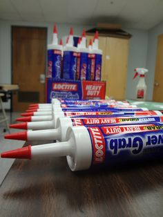 Sharpies, paint, and paper! Oh my!: Gearing up for another mural. Glue for bottle cap mural.