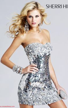 Amazingly shiny dress