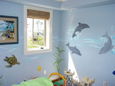 Attractive Dolphin Themed Bedroom Decor   The Largest While Doing Up Your Small Bedroom  Designing Error Is: Over  Accessorizing And Crow