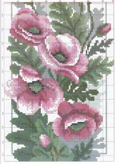 Podłużne kwiatowe 24 (4/4) maki