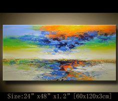 Abstract Wall Painting expressionism Textured door xiangwuchen