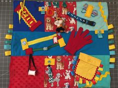 fidget quilt/Dementia awareness/Alzheimer awareness/stroke rehab/busy blanket/activity blanket/occupational therapy/sensory blanket - All Diseases Dementia Activities, Infant Activities, Elderly Activities, Outdoor Activities, Quilting Projects, Sewing Projects, Sewing Ideas, Dementia Awareness, Tactile Stimulation