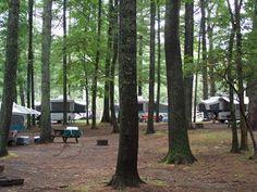 Raccoon Holler Campground / RV Camping / North Carolina Mountains / Blue Ridge Parkway