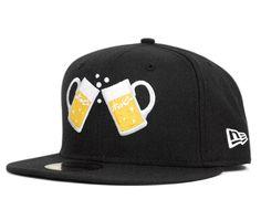 HOPPY x NEW ERA「Logo」59Fifty Fitted Baseball Cap