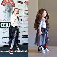 МАНЮНЯ для Марьяны  #trendydolls #fashionismyprofession #одинводин #doll #gift #handmade #instagood #instadaily