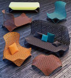 "Ukrainian designer Dmitry Kozinenko has created anoutdoor furniture collectionnamed ""SPIRITs"". SPIRITs outdoor furniture collectionconsists of several f"