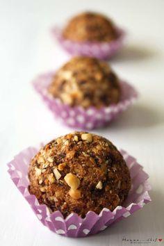 Le palle di Monica Italian Recipes, Vegan Recipes, Cooking Cookies, Brownie Cookies, Bellisima, Sweet Recipes, Creme, Muffin, Chocolate