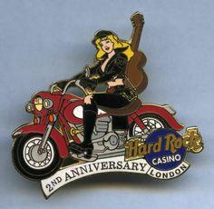 London - Hard Rock Cafe Pin