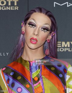 Violet Chachki attends the 'Jeremy Scott: The People's Designer' New York premiere at The Paris Theatre on September 15, 2015 in New York City.