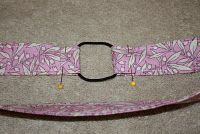 ten minute headbands... secured and elasticized with a pony holder.