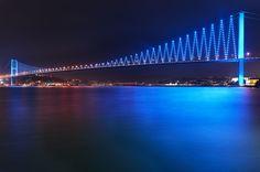 Bosporus Bridge 1 by Fokion Zissiadis, via 500px