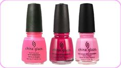 Pink Nail Polish...any or all three, love these colors...stocking stuffer