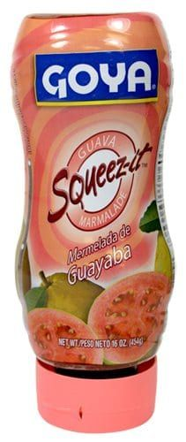 Goya Foods Guava Marmalade Squeeze Bottle, 16 Ounce (Pack of Gourmet Recipes, Snack Recipes, Cooking Recipes, Mantecaditos, Puerto Rican Recipes, Cookies For Kids, Cookie Swap, Almond Cookies, Cream And Sugar