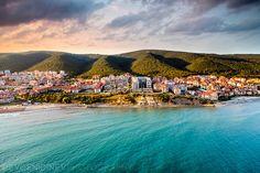 Saint Vlas (Sveti Vlas) , Bulgaria Where the mountain meet the sea ♥