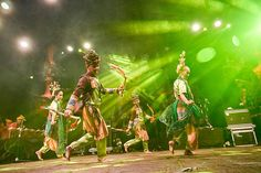 Performance at Bali Spirit Festival 2017