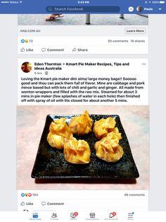 Mini Pie Recipes, Waffle Maker Recipes, Dip Recipes, Healthy Recipes, Bacon Cheese Dips, Potato Pancakes, Mini Pies, Main Meals, Puddings