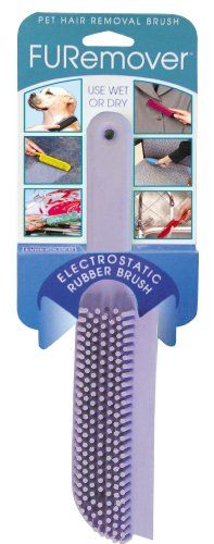 Evriholder FURemover Pet Hair Removal Brush, color may vary * See this great product. (This is an affiliate link) #DogGroomingSupplies