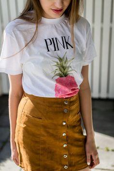 ganni-tshirt-pink