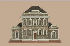 Maison de  poupée du 19s. Doll Houses, Dollhouse Miniatures, Notre Dame, Dolls, Building, Art, Baby Doll House, Houses, Home