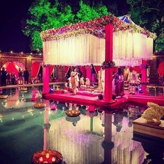 indian wedding decor decorations floral and canopy destination weddings floral mandaps