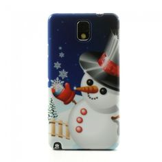 Merry Christmas (Lumiukko) Samsung Galaxy Note 3 Suojakuori - http://lux-case.fi/merry-christmas-lumiukko-samsung-galaxy-note-3-suojakuori.html